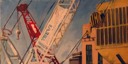 Crane Painting - still unfinished