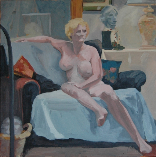 oil painting nude study