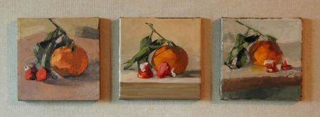 3 6x6 paintings
